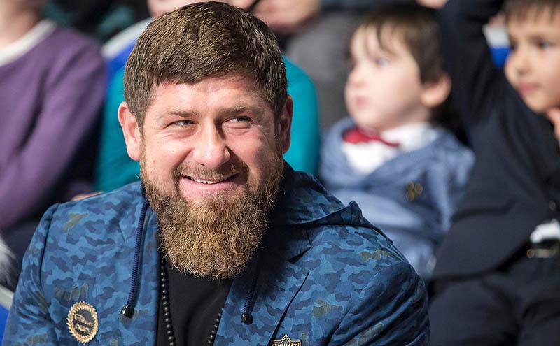 Рамзан Кадыров в instagram 2